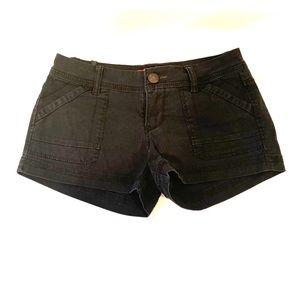 Unionbay black jean shorts size 1